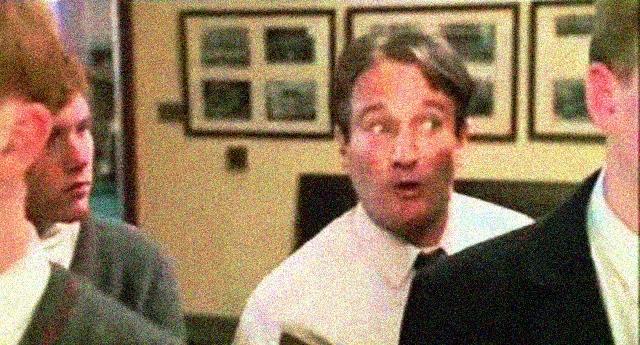Carpe diem - Cogliete l'attimo, rendete straordinaria la vostra vita - Robin Williams ed il fantastico monologo tratto da