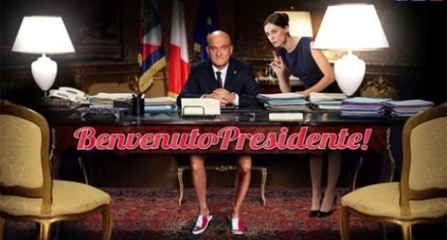 """Claudio Bisio in """"Benvenuto Presidente� – Il fantastico discorso finale..."""