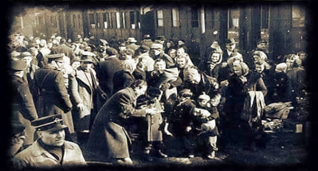 16 febbraio 1947 - Il treno della vergogna - Gli esuli Istriani accolti dai loro connazionali non solo senza un briciolo di solidarietà, ma con avversione, rancore e inaudita violenza.