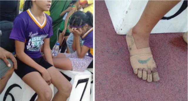 Un esempio per i nostri ragazzi: Rhea, appena 11 anni, non ha i soldi per comprarsi le scarpe, crea a mano 'Nike' improvvisate e vince tre medaglie d'oro!