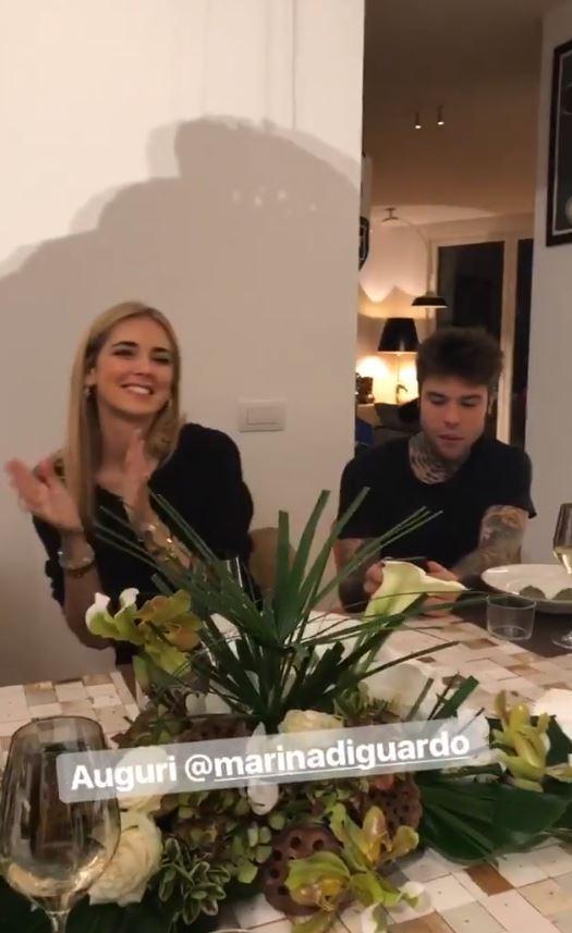 Chiara Ferragni e Fedez, dopo l'annuncio della gravidanza la festa in famiglia