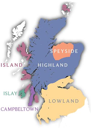 Whisky scozzesi-Puro malto tradizionale