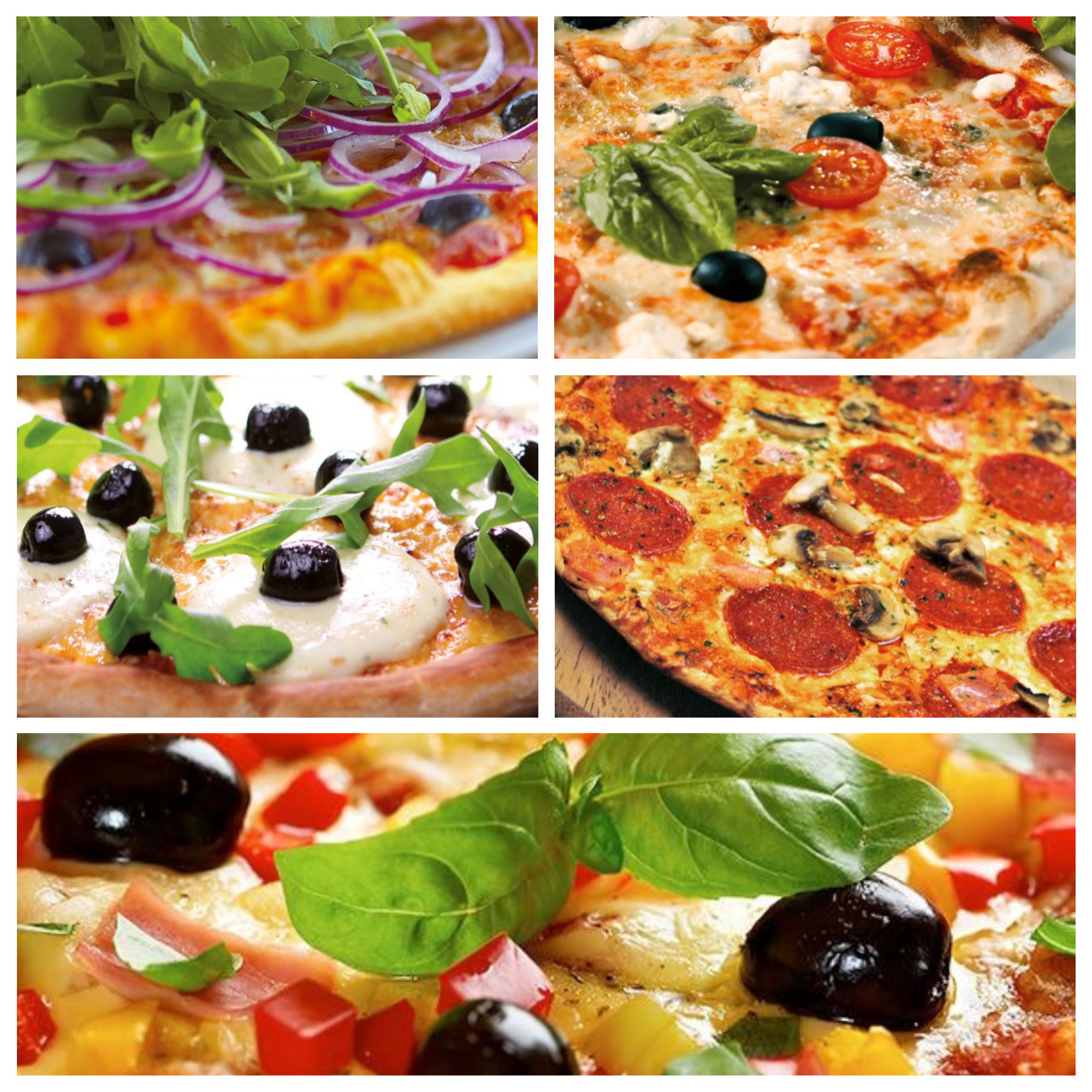 Menu Pizza del 20 Agosto