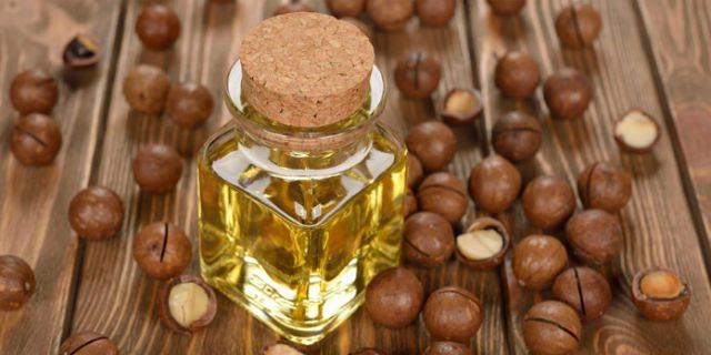 Olio di Macadamia per la salute di pelle e capelli.