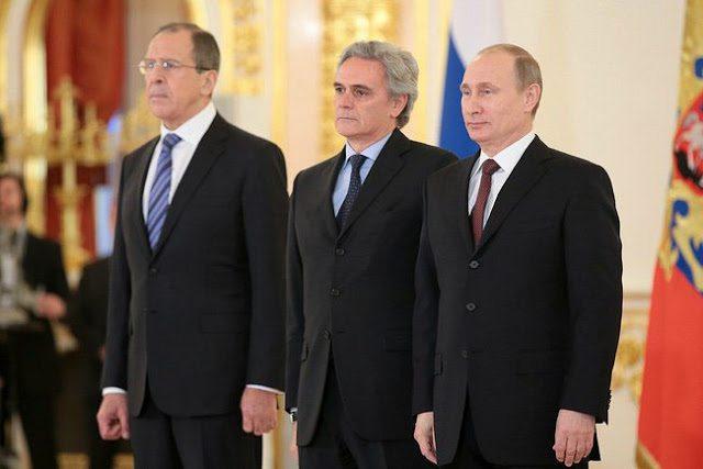 """Un'autorevole voce """" fuori dal coro"""" a proposito di Russia: L'ambasciatore italiano a Mosca Ragaglini.  (di Paolo Valentino)"""