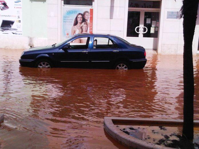 Umago. Resta l'emergenza alluvioni