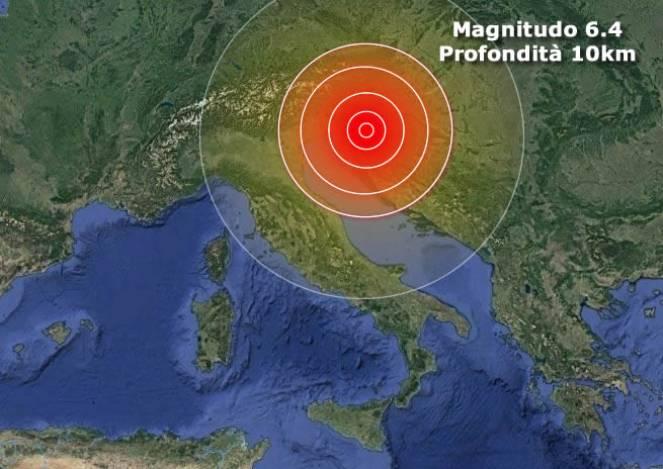 Terremoto in Croazia, nuova forte scossa di magnitudo 5.2