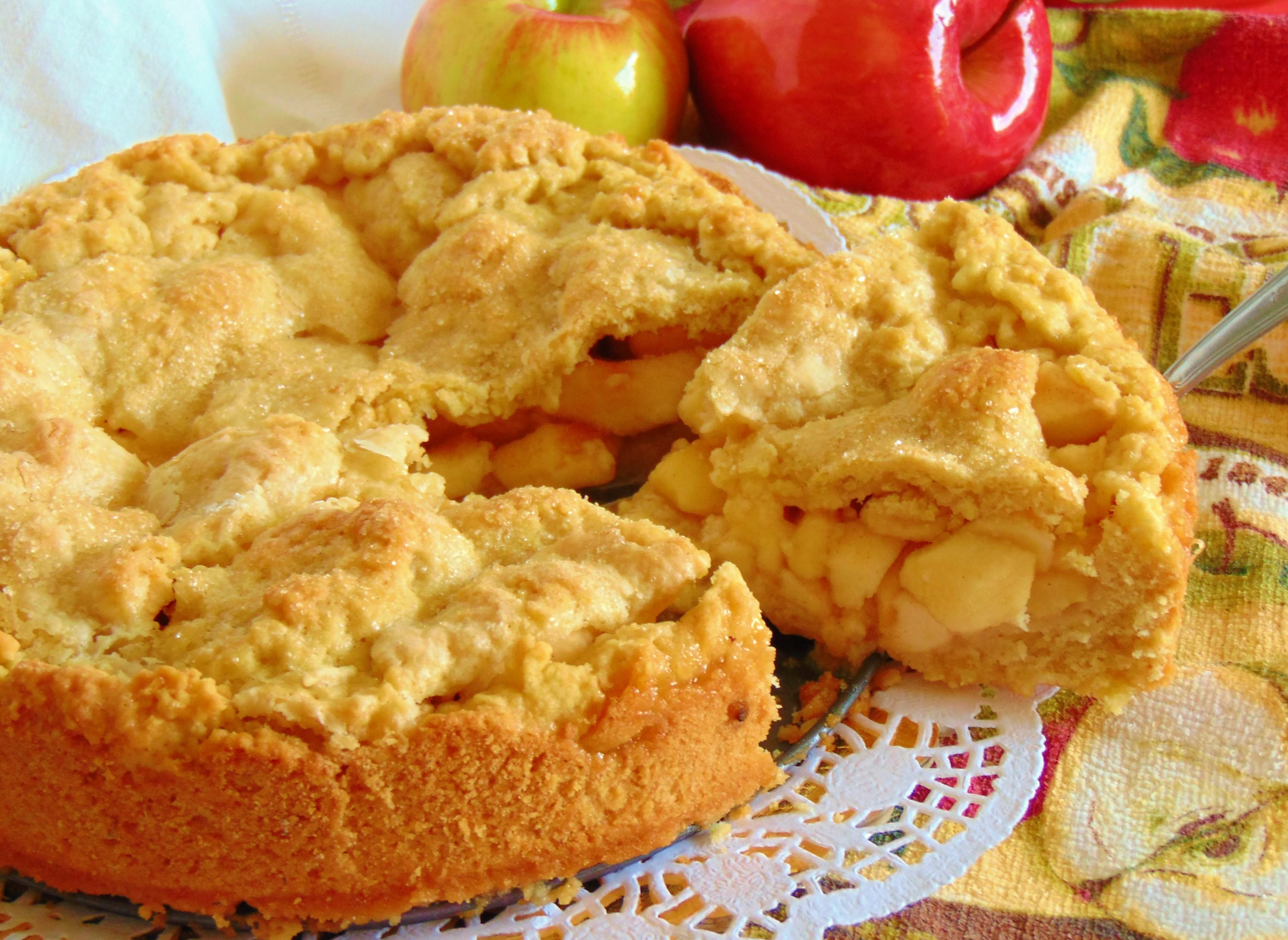 Crostata di mele come nonna Papera