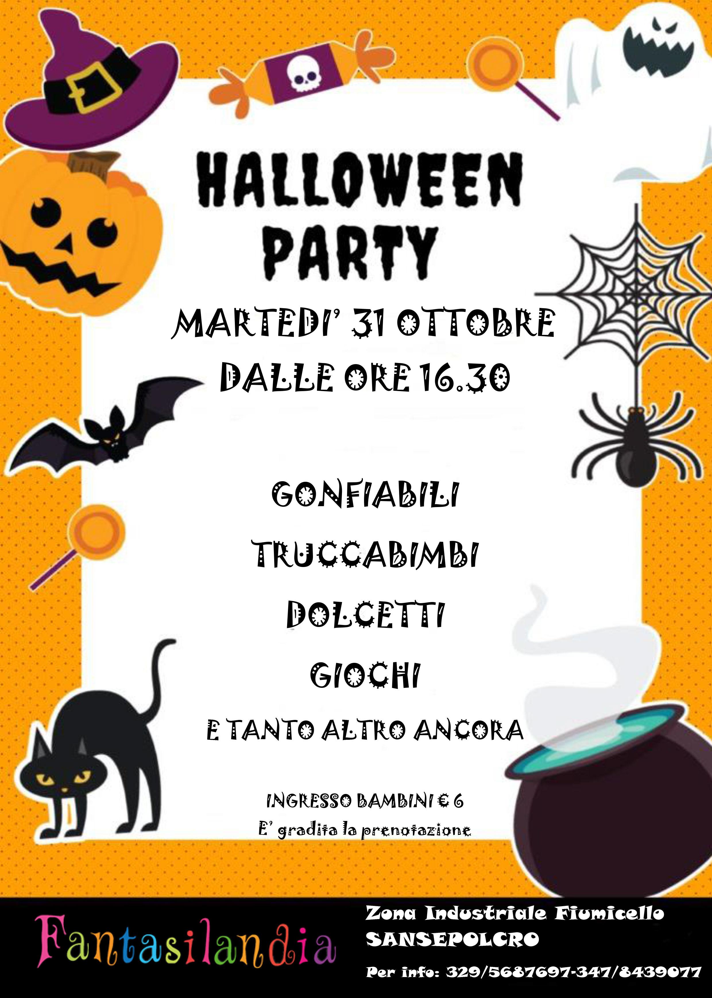 Halloween a Fantasilandia Sansepolcro