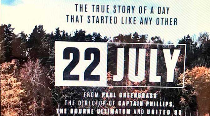 22 LUGLIO: PAUL GREENGRASS E L'ARTE DI RACCONTARE IL TERRORISMO