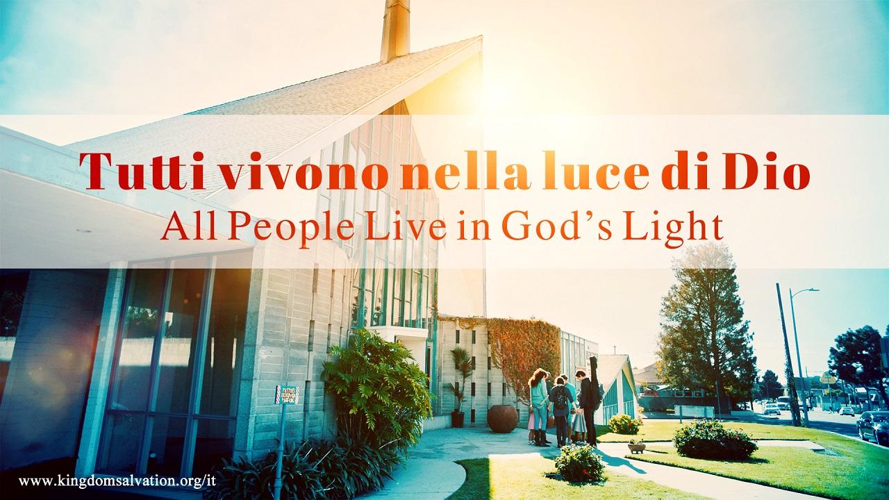 Tutti vivono nella luce di Dio