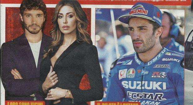 Belen Rodriguez lascia Andrea Iannone: il suo ex marito Stefano De Martino passa la giornata a casa sua