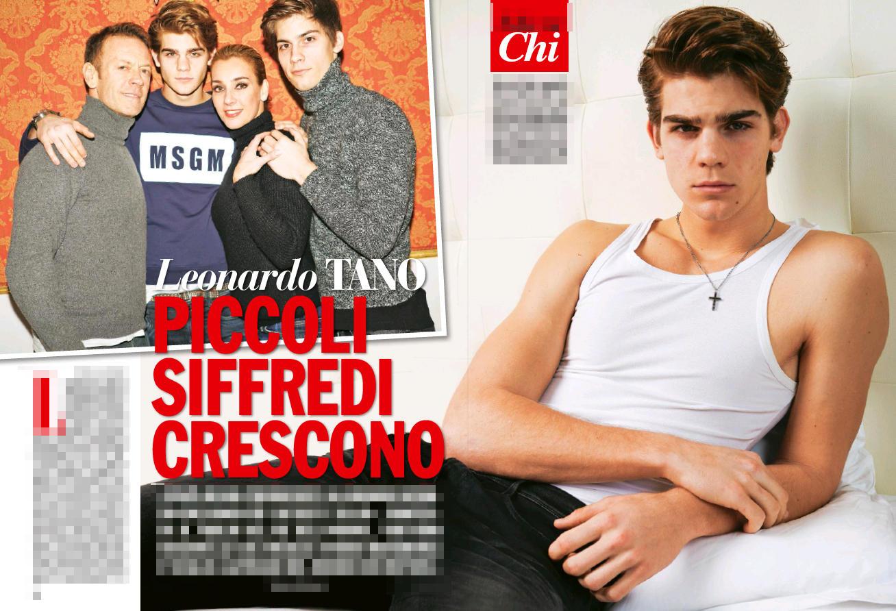 Leonardo Tano, il figlio di Siffredi: