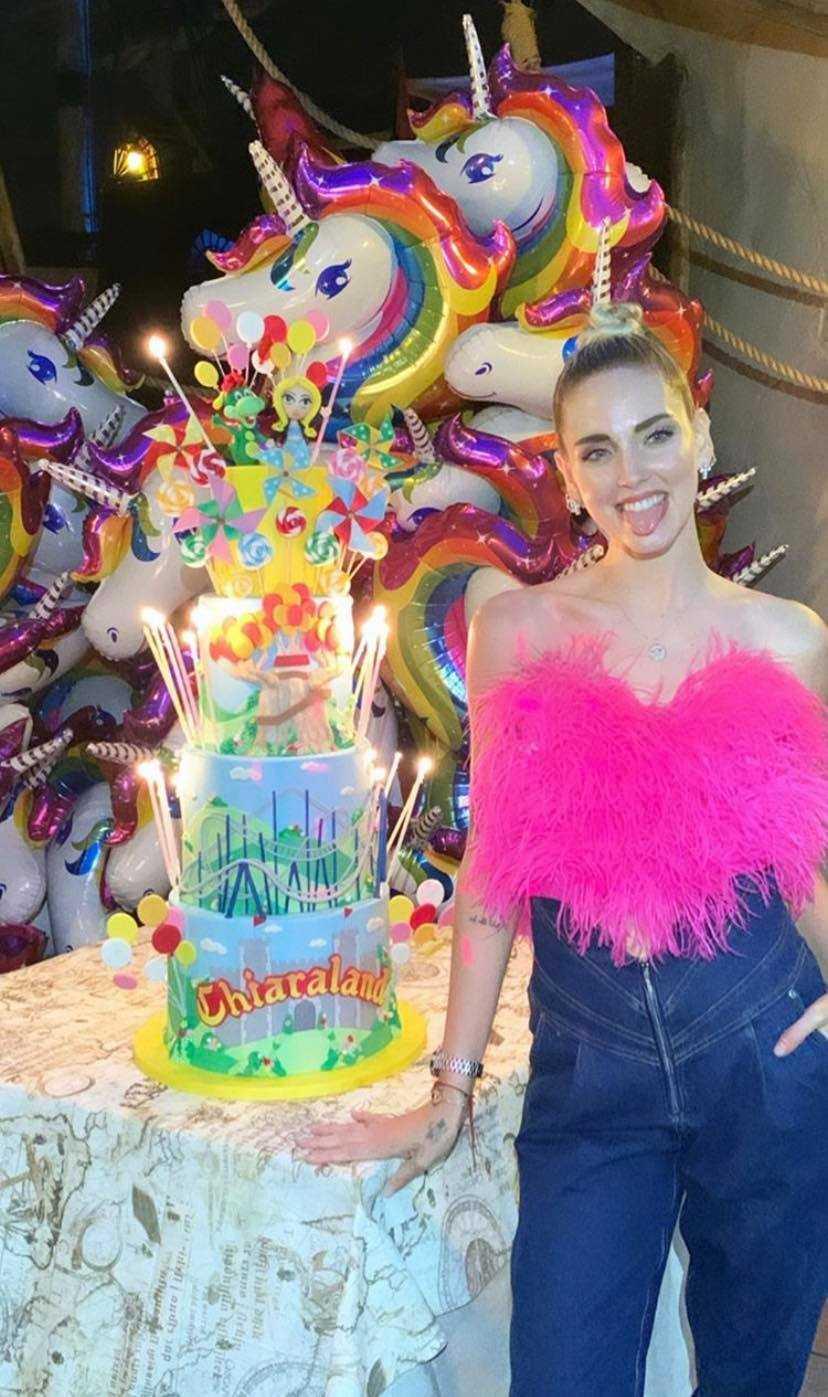 Trash:Chiara Ferragni ha affittato tutto Gardaland per festeggiare il suo compleanno