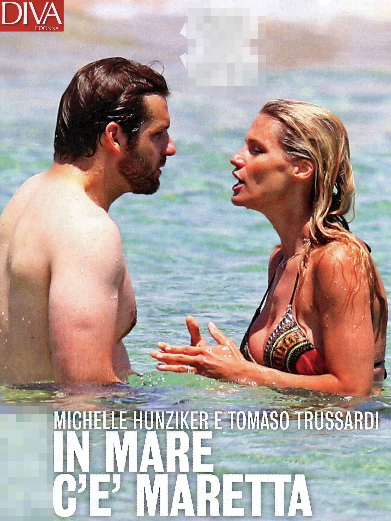 Michelle Hunziker e Tomaso Trussardi: è lite! Ecco cos'è successo