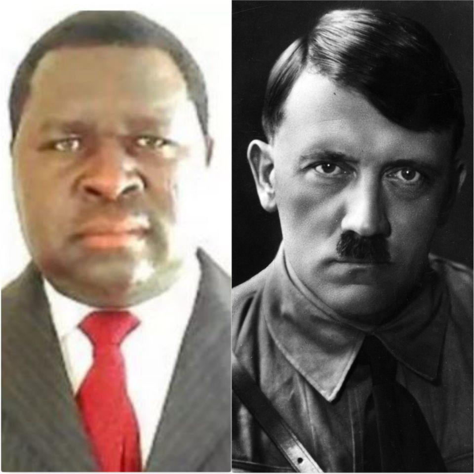 Adolf Hitler eletto in Namibia.