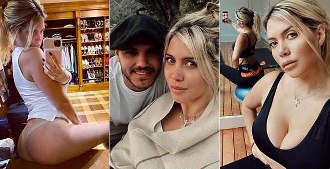 """Wanda Nara, la moglie di Mauro Icardi si mette a nudo sui social: """"Io infedele? È vero…�"""