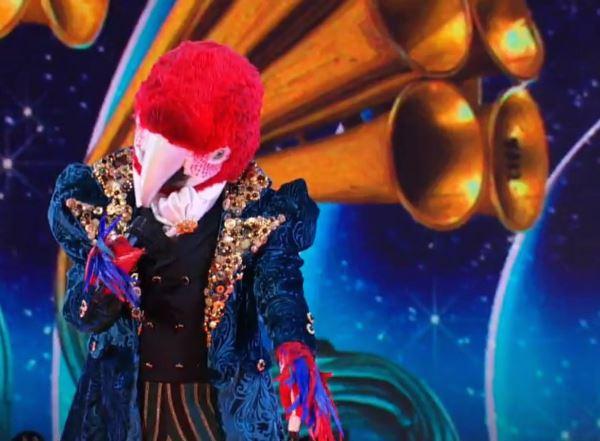 Il Cantante Mascherato, vince Pappagallo. E sotto il costume si nasconde…