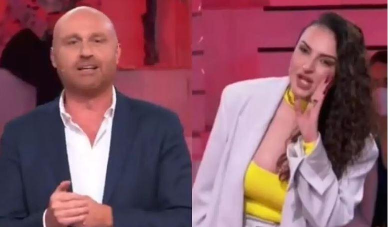"Amici, Rudy Zerbi stuzzica Arisa ""Era a casa mia�: Maria De Filippi costretta ad intervenire"