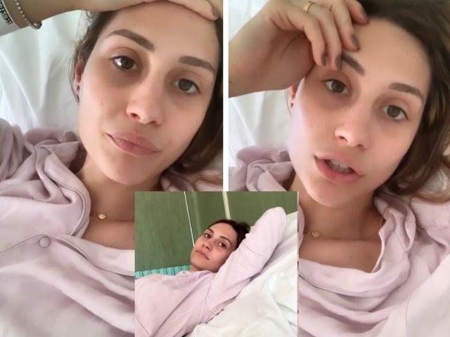 Uomini e Donne, Beatrice Valli ricoverata in ospedale: «Sto molto male, preferisco non dire cosa ho»