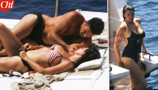 Buffon e D'Amico in barca bruciano di passione