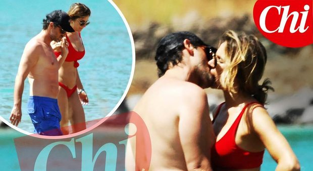 Eleonora Pedron e Fabio Troiano, la passione della coppia in vacanza