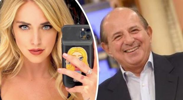 Chiara Ferragni, Giancarlo Magalli attacca: «Guadagna miliardi e non sa fare niente»