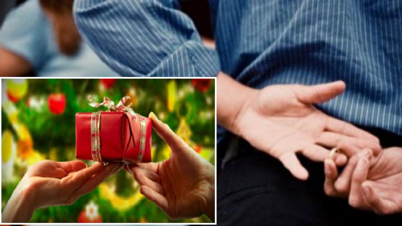 Tradimenti, boom a Natale: 4 su 10 comprano il regalo anche all'amante. Budget minimo? 100 euro