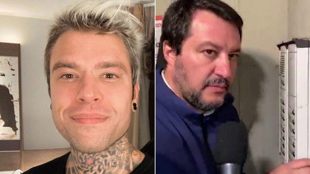 Salvini, Fedez: «Più che un giustiziere, sembrava un Testimone di Geova»