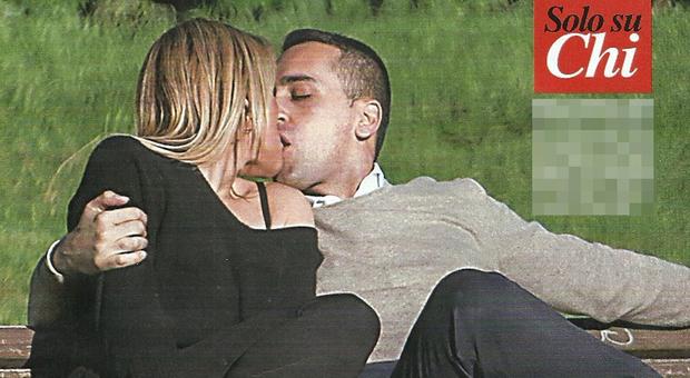 Luigi Di Maio, baci hot con la fidanzata Virginia Saba a San Valentino