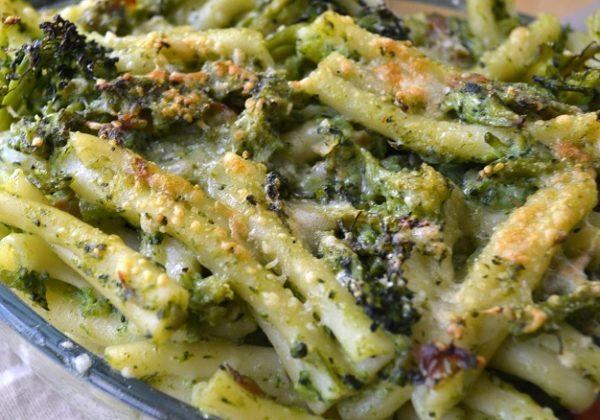Pasta con Broccoli al Forno