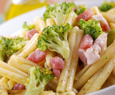 Casarecce con Broccoli e Pancetta