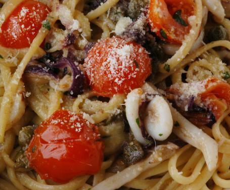 Spaghetti Seppie e Pecorino