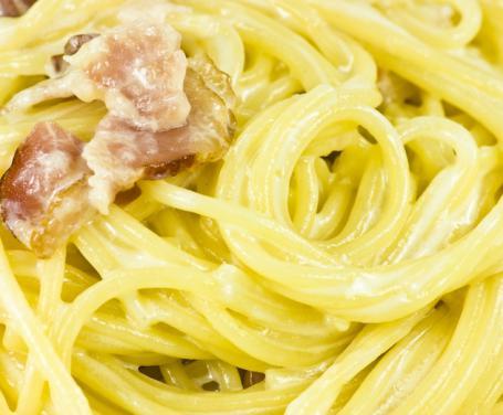 Vermicelli Panna e Pancetta