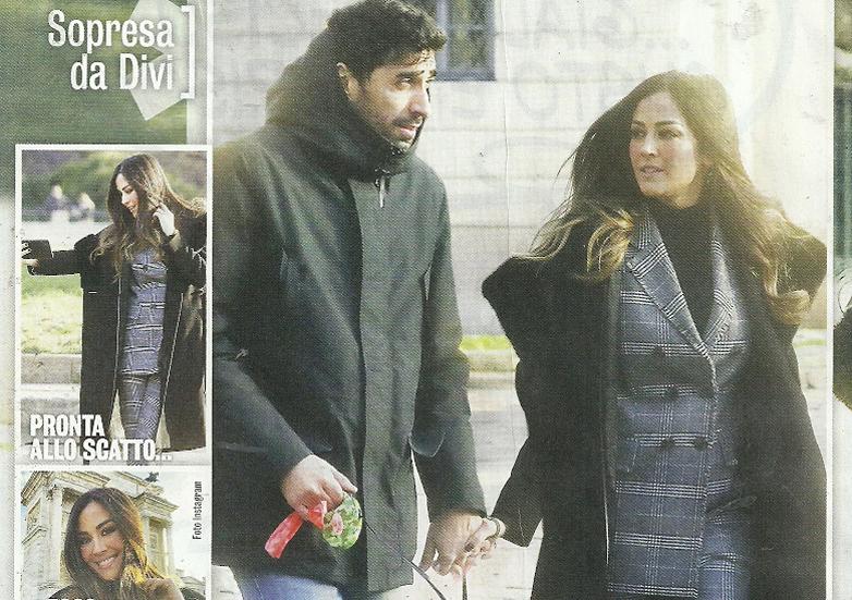 Giorgia Palmas incinta? Ecco le foto col pancino sospetto mentre passeggia con Filippo Magnini