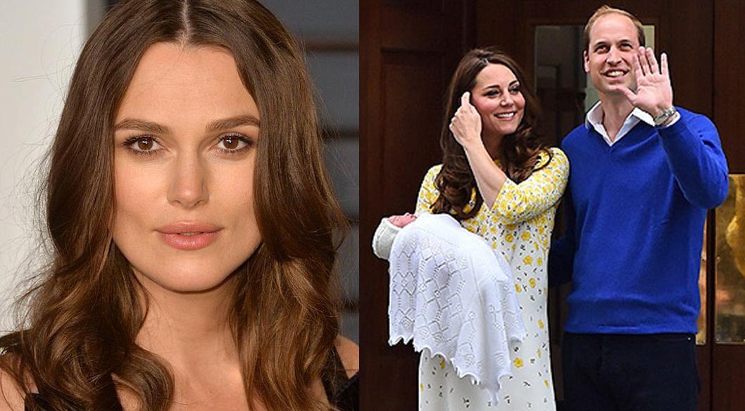 Keyra Knightley contro Kate Middleton: «Non si può essere così a poche ore dal parto»