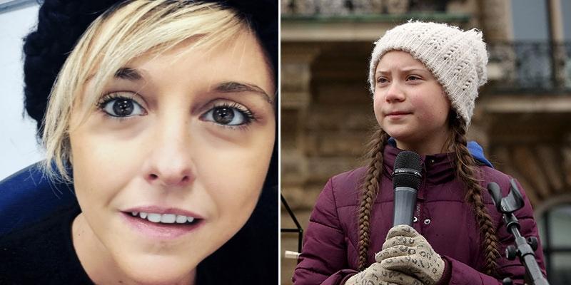 Greta Thunberg, Nadia Toffa: «Usano i bambini per non fare nulla. Che vergogna». Pioggia di insulti su Twitter