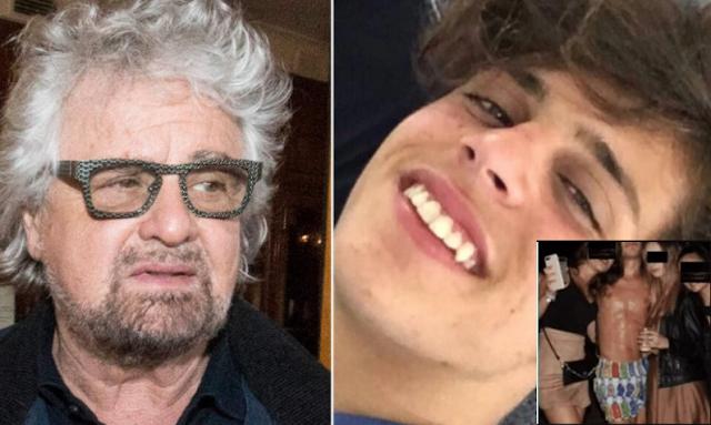 Beppe Grillo difende il figlio: «Sui giornali da due anni, perché non lo arrestano? Sono c***ni, non stupratori»