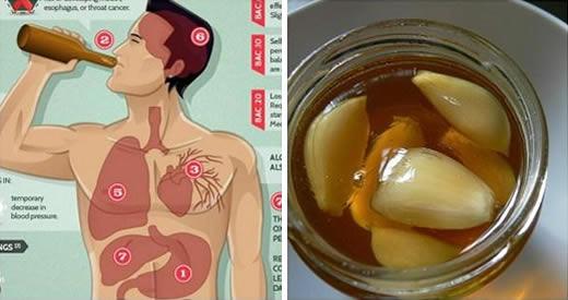 Aglio e miele: un rimedio potentissimo