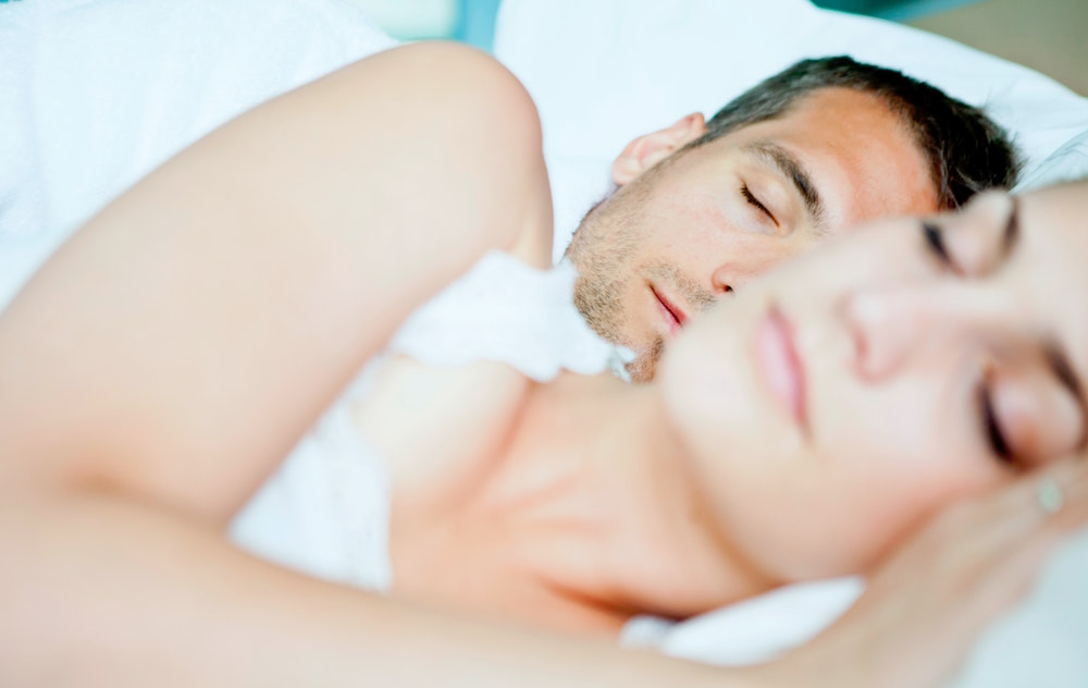 L'odore del partner durante il sonno fa bene alla salute