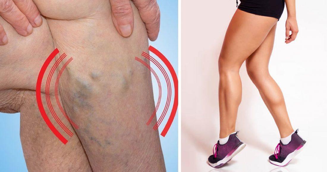 Routine TABATA: elimina le vene varicose e la cellulite e tonifica le gambe con 7 movimenti