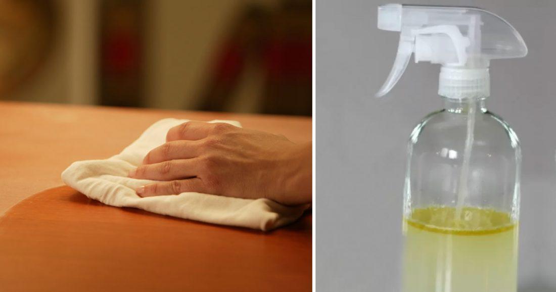 Come preparare uno spray acchiappapolvere fai da te