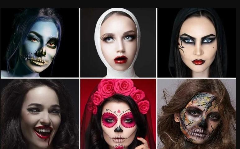Trucco Halloween ragazza 2021: 100 idee make up semplici e originali