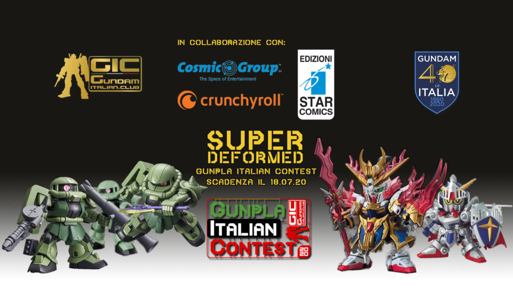 Super Deformed Gunpla Italian Contest