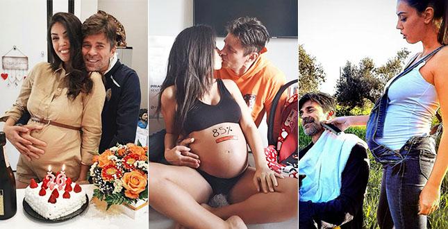 Fabio Fulco e Veronica Papa incinta, compleanno da innamoratissimi: lei ha la metà dei suoi anni