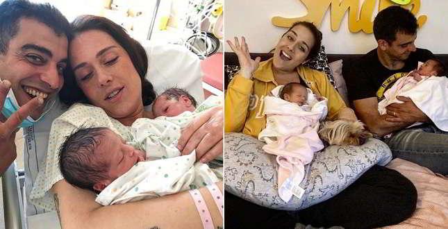 Beppe Grillo e la moglie Parvin Tadjik sono nonni: la figlia (di lei) Valentina Scarnecchia ha dato alla luce due gemelle