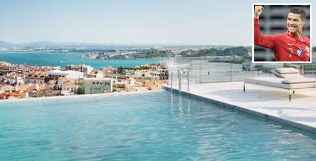 CR7, il suo nuovo superattico (con piscina sul tetto) è uno spettacolo…
