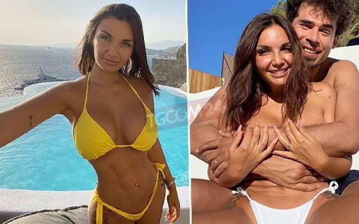 """Elettra Lamborghini in bikini a Mykonos: """"Ciao da noi 3�"""