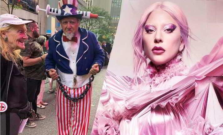 No vax se la prendono con Lady Gaga: protesta davanti al suo concerto