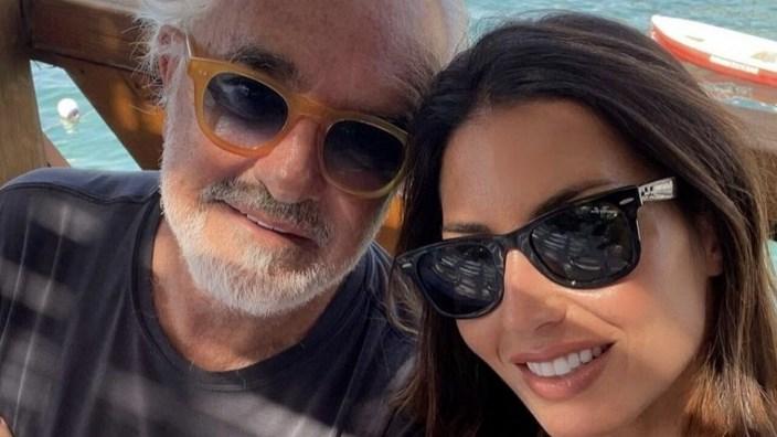 Elisabetta Gregoraci e Flavio Briatore a Capri, i fan: